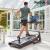 Reebok鋭歩ランニングマシン家庭用静音折りたたみウォーキングマシンフィットネス機器A 6.0【インテリジェントアップアプリモデル】